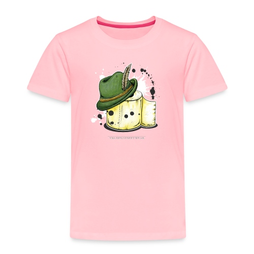 The hunter & the toilet paper - Toddler Premium T-Shirt