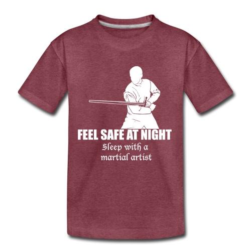 Feel safe male LS - Toddler Premium T-Shirt