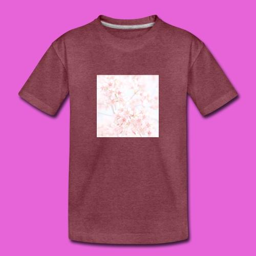 cute flower design - Toddler Premium T-Shirt