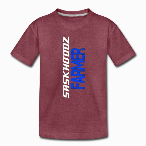 saskhoodz farming - Toddler Premium T-Shirt