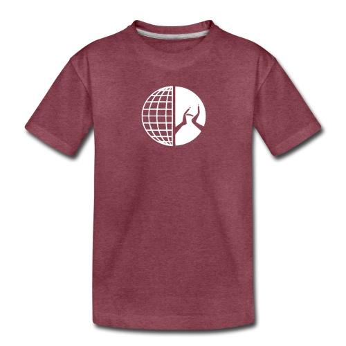 DMI Logo White - Toddler Premium T-Shirt