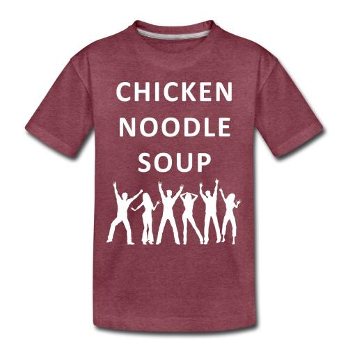 chicken noodle soup2 - Toddler Premium T-Shirt