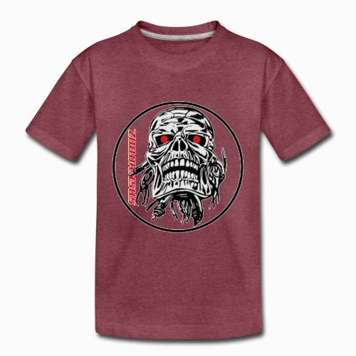 saskhoodz skull - Toddler Premium T-Shirt