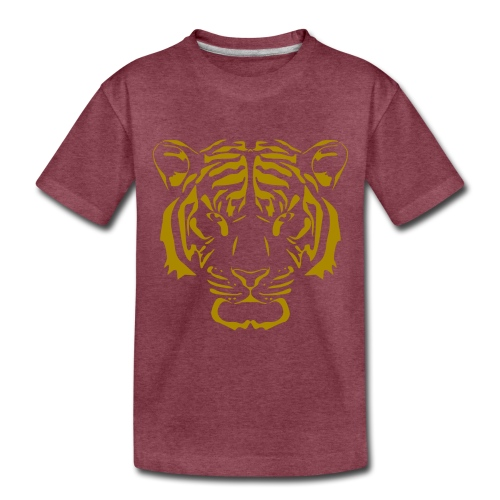 Tiger head - Toddler Premium T-Shirt