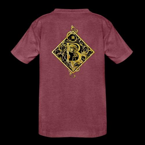 NAME STARTS WITH B MONOGRAM FANCY BEE! - Toddler Premium T-Shirt