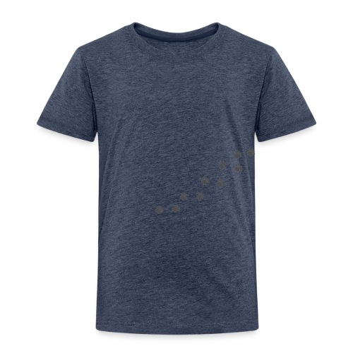 dog footprint - Toddler Premium T-Shirt