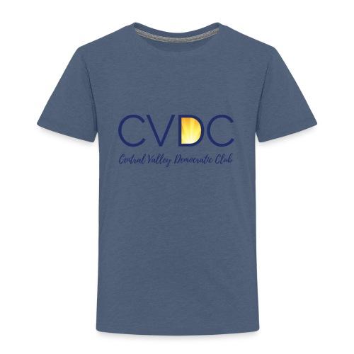 CVDC Blue Logo - Toddler Premium T-Shirt
