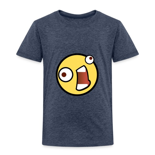 fear Emoticon - Toddler Premium T-Shirt