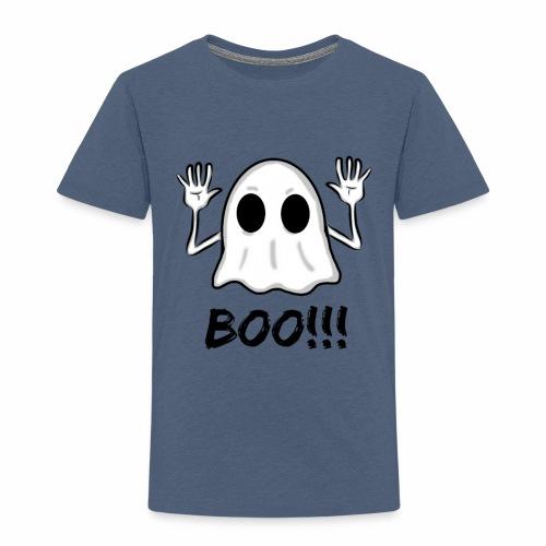 BOO!!! Halloween Design - Toddler Premium T-Shirt