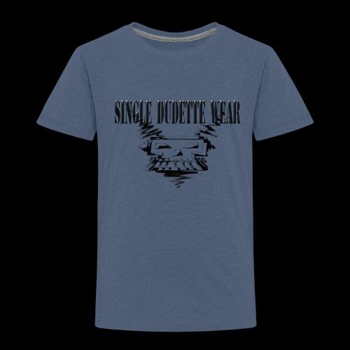 SDW Skull Big Dudette - Toddler Premium T-Shirt