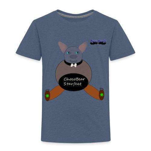 Girls ChocoBear Flare Shirt - Toddler Premium T-Shirt