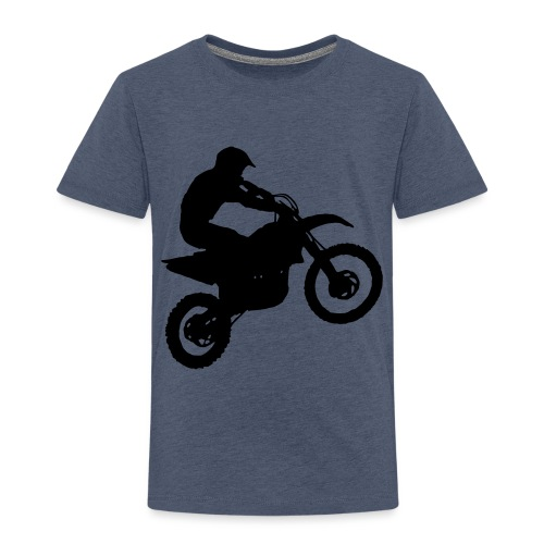 Motocross Dirt biker - Toddler Premium T-Shirt