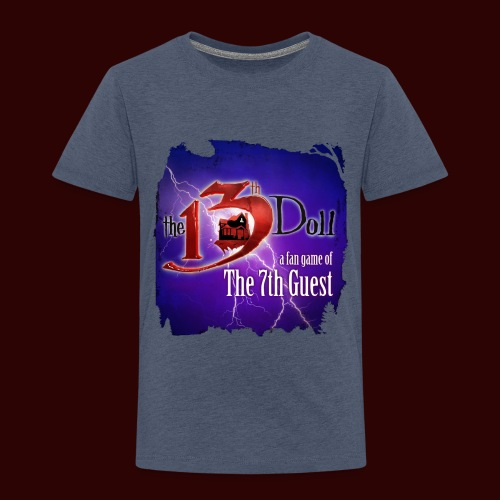 The 13th Doll Logo With Lightning - Toddler Premium T-Shirt