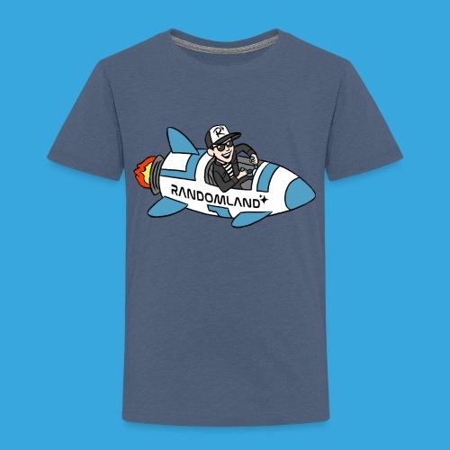Randomland Rocket - Toddler Premium T-Shirt