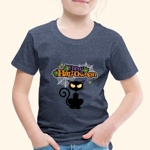 happy holloween BLACCK CAT TEE - Toddler Premium T-Shirt