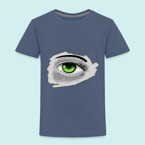 Realist Anime green eye - Toddler Premium T-Shirt