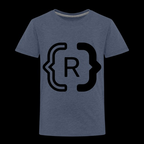 square black reswitched R logo bmx3r - Toddler Premium T-Shirt