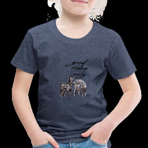 Good Rides Only - Toddler Premium T-Shirt