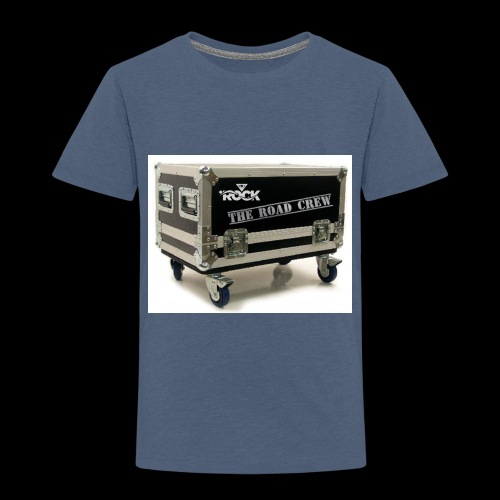 Eye rock road crew Design - Toddler Premium T-Shirt