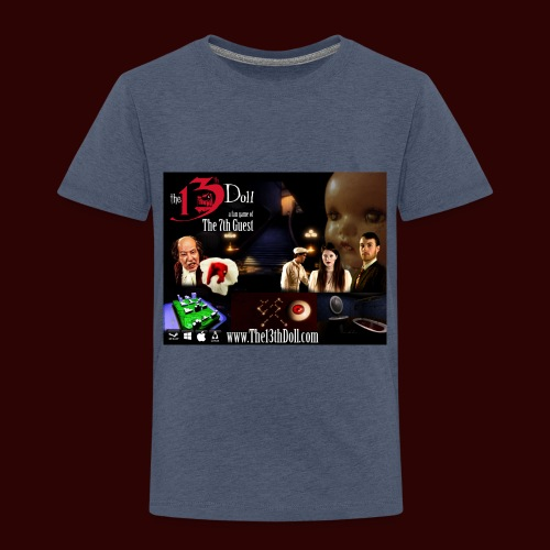 The 13th Doll Cast and Puzzles - Toddler Premium T-Shirt