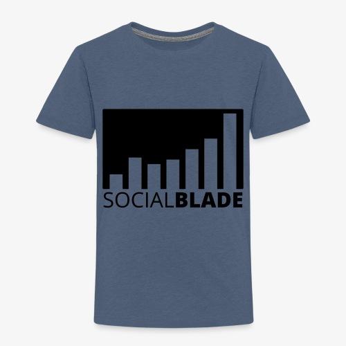 SB Blackout Logo - Toddler Premium T-Shirt