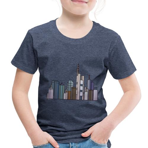 Frankfurt skyline - Toddler Premium T-Shirt