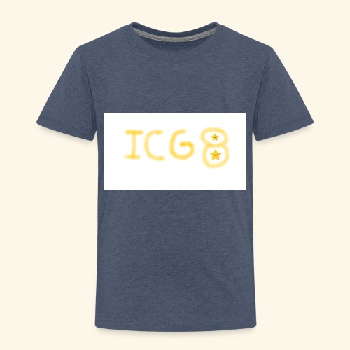 ICG8 with Paint - Toddler Premium T-Shirt