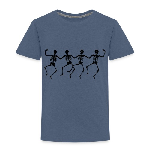 Dancing Skeletons - Toddler Premium T-Shirt
