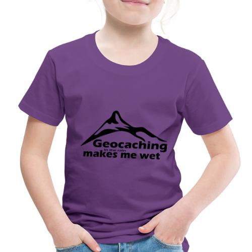 Wet Geocaching - Toddler Premium T-Shirt