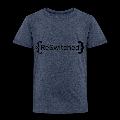 full black reswitched bmx3r - Toddler Premium T-Shirt