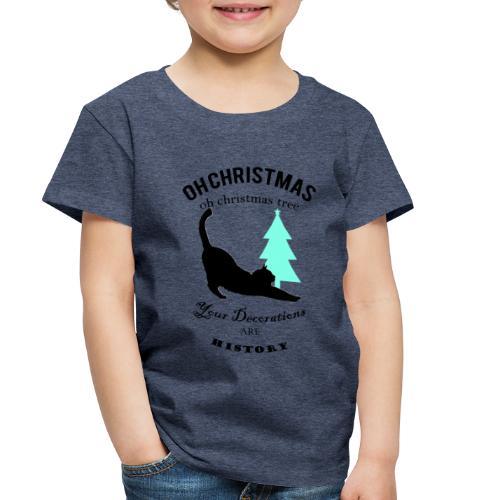 Christmas kitty - Toddler Premium T-Shirt