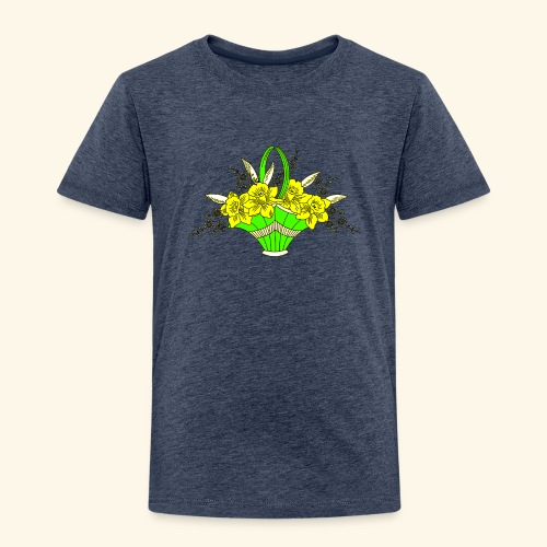 Daffodils Poster - Toddler Premium T-Shirt