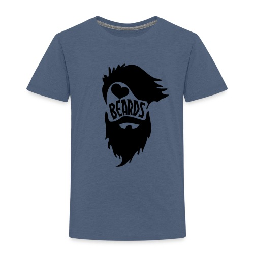 I Love Beards - Toddler Premium T-Shirt