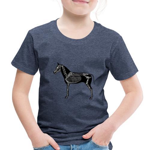 Skeleton Horse - Toddler Premium T-Shirt