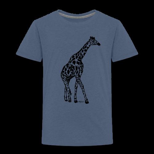 giraffe - Toddler Premium T-Shirt