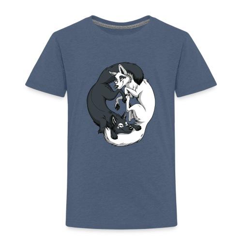 Yin Yang Foxes - Toddler Premium T-Shirt