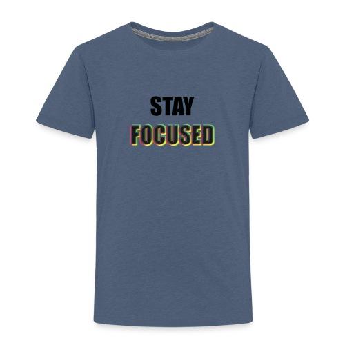 focused - Toddler Premium T-Shirt