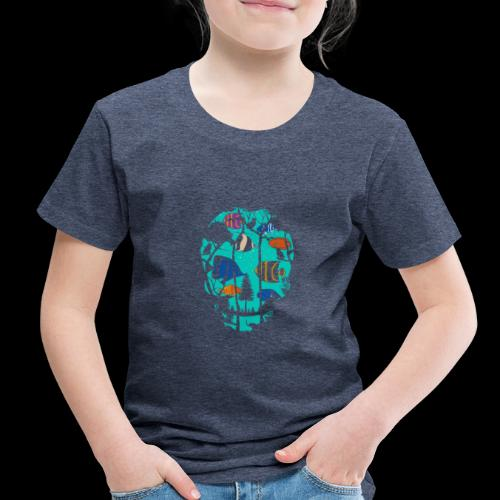 Underwater Skull - Toddler Premium T-Shirt