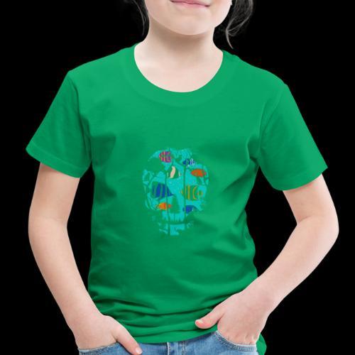 Underwater Skull - Toddler Premium T-Shirt