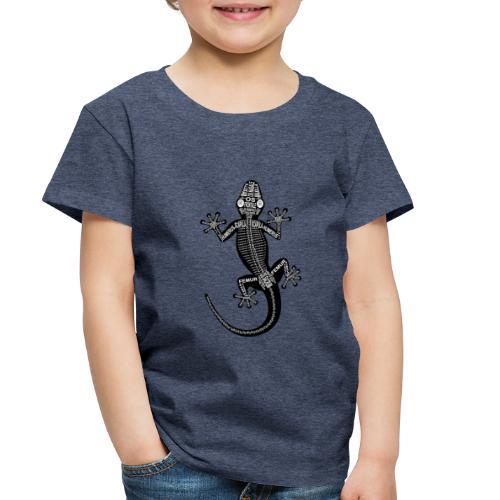 Skeleton Gecko - Toddler Premium T-Shirt