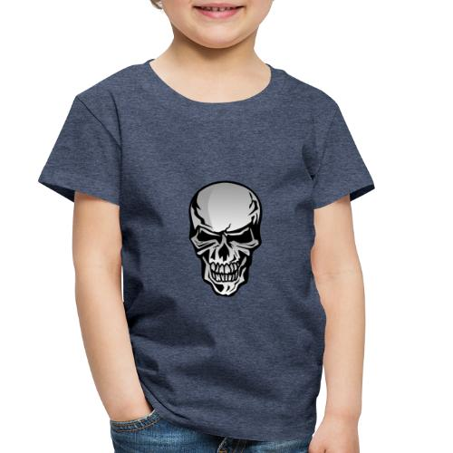 Chrome Skull Illustration - Toddler Premium T-Shirt