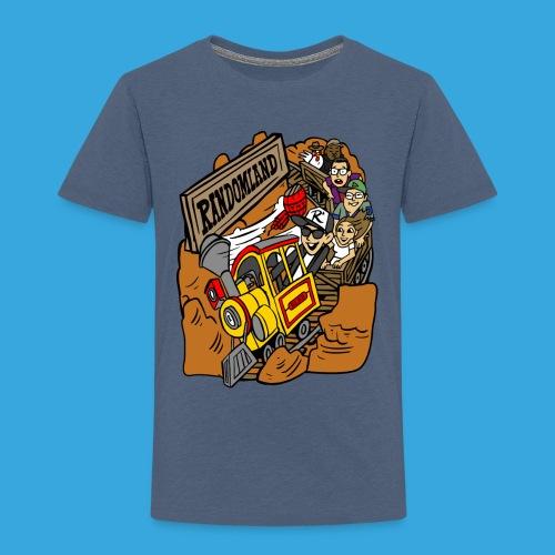 Wild West Mine Train - Toddler Premium T-Shirt