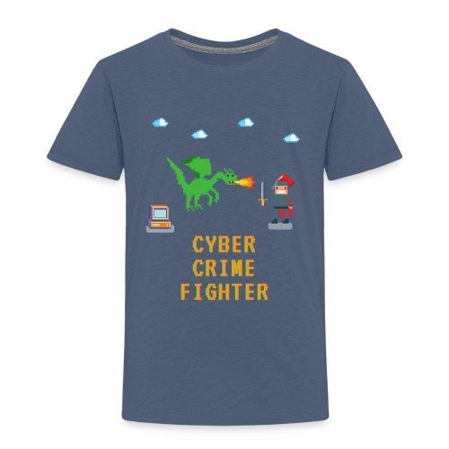 Cyber Crime fighter - Toddler Premium T-Shirt