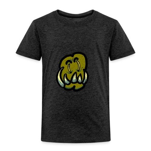 Tusked Green-Skin - Toddler Premium T-Shirt