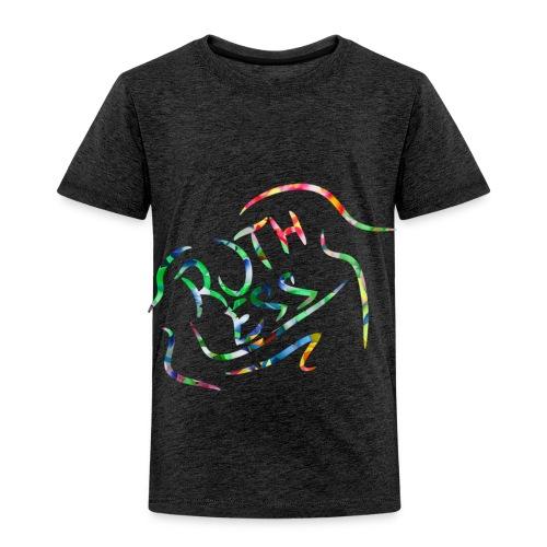 Flower Signature Black - Toddler Premium T-Shirt