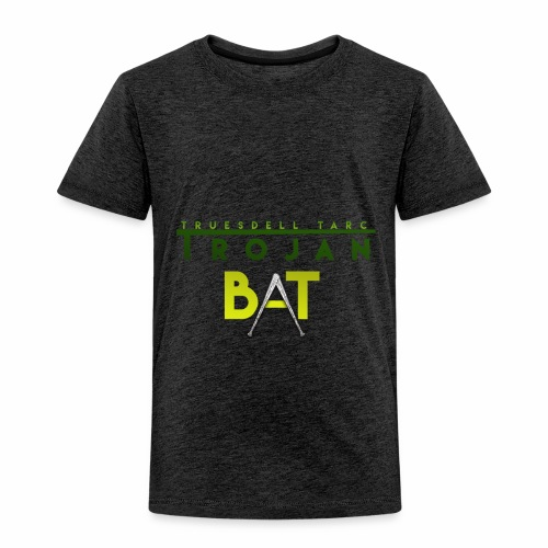 New Trojan Bat Logo - Toddler Premium T-Shirt