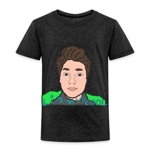 LiamWcool head tee - Toddler Premium T-Shirt