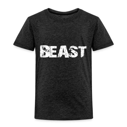 beast tee - Toddler Premium T-Shirt