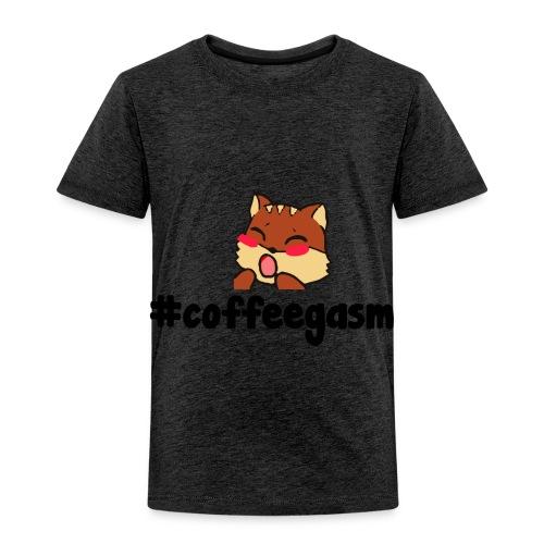 #CoffeeGasm Chiprel - Toddler Premium T-Shirt