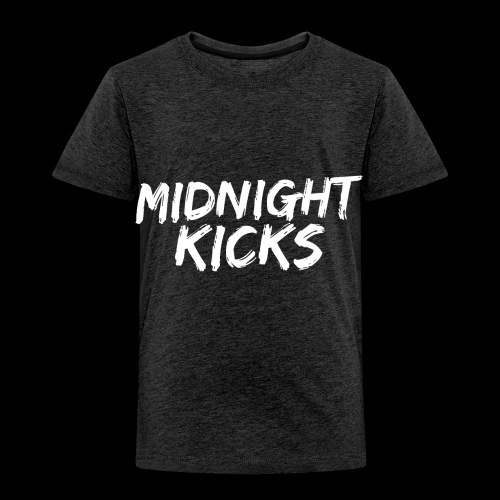 Midnight Kicks Logo - Toddler Premium T-Shirt